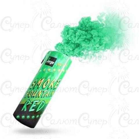 Цветная ручная дымовая шашка Зеленый Дым (время: 60 секунд, цвет дыма: зеленый)