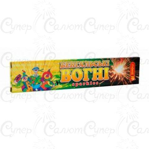 Бенгальские огни (длина: 16 см, в пачке: 10 шт, время горения: 30 сек)