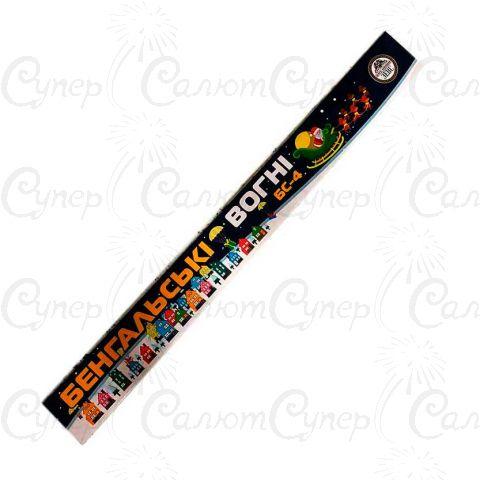 Бенгальские огни (длина: 40 см,в упаковке: 5 шт,время горения: 90 секунд)
