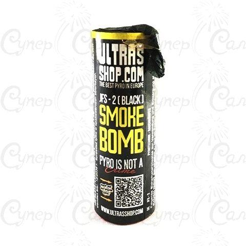 Цветная дымовая шашка с Чёрным дымом (время: 75 секунд)