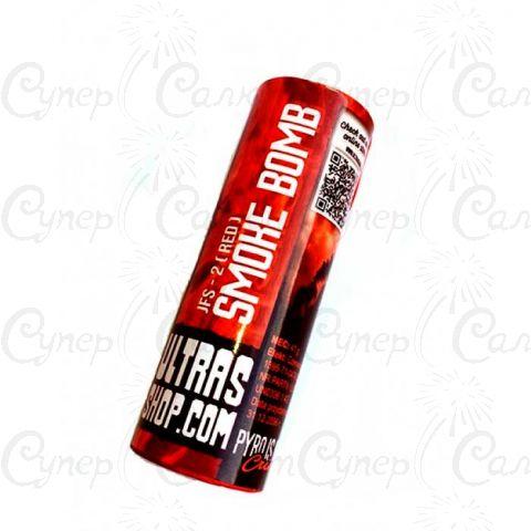 Цветная дымовая шашка с Красным дымом (время: 75 секунд)