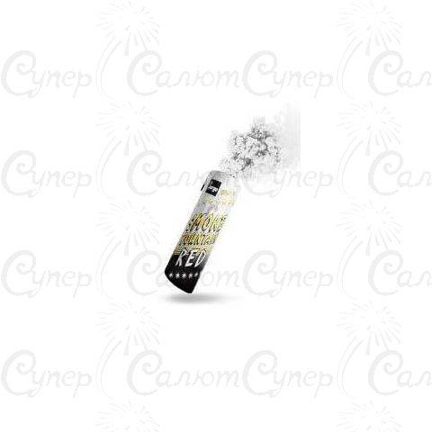 Цветная ручная дымовая шашка Белый Дым (время: 60 секунд, цвет дыма: белый)