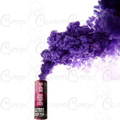 Цветная дымовая шашка с Фиолетовым дымом (время: 75 секунд)