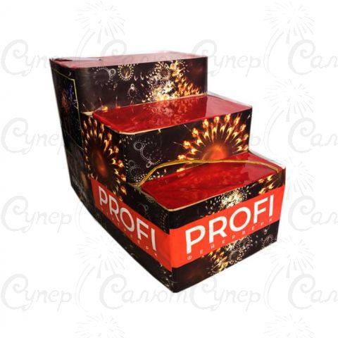 Салютная установка Profi – Mix 91 залпов (калибр 30-50-75 мм.) + Веер