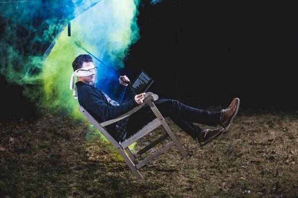 цветной дым для фотосессии картинка 1