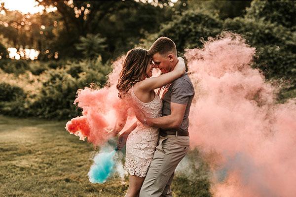 цветные дымовые шашки для фотосессии картинка 2