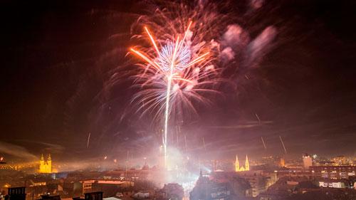 Салют в Киев фото